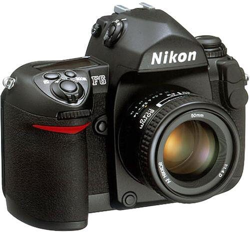 The Nikon F6 is of similar build to a DSLR.