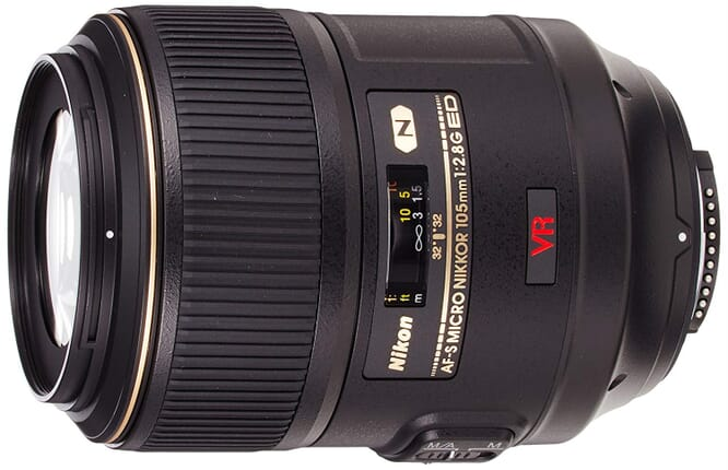 The Nikon 105mm Micro is a close competitor to the Canon 100mm lens.