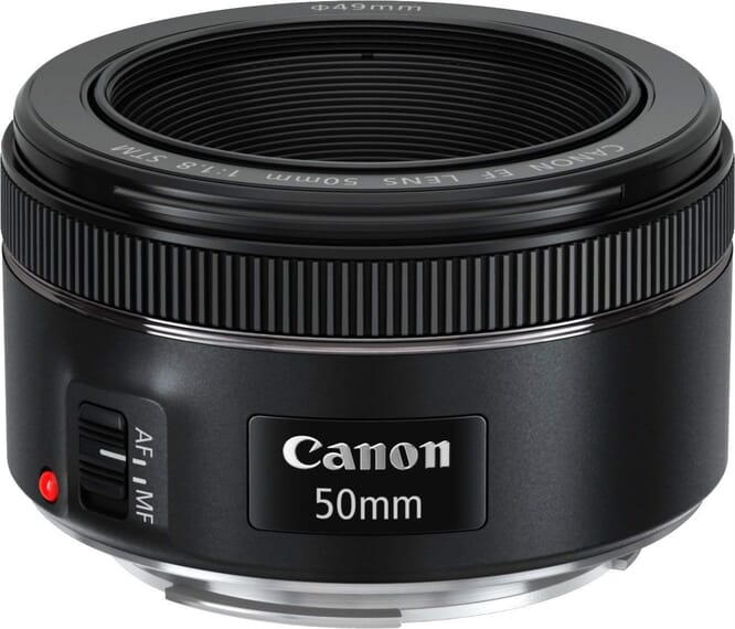 Though the focal length of this lens isn't exactly ideal, this lens is great for those starting out in product photography.