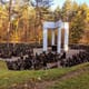 The central part of the Bikernieki Forest Memorial