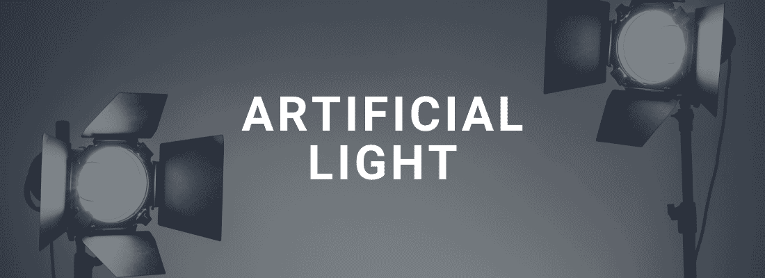 artificial light
