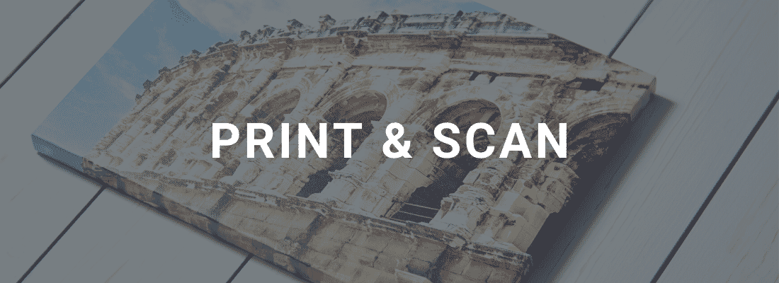 printing and scanning photos
