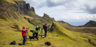 Landscape Photography Workshop in Scotland.