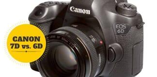 Canon 7D vs. 6D