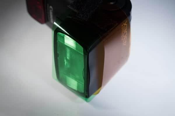 Learning about gels for flash by Matt Biddulph