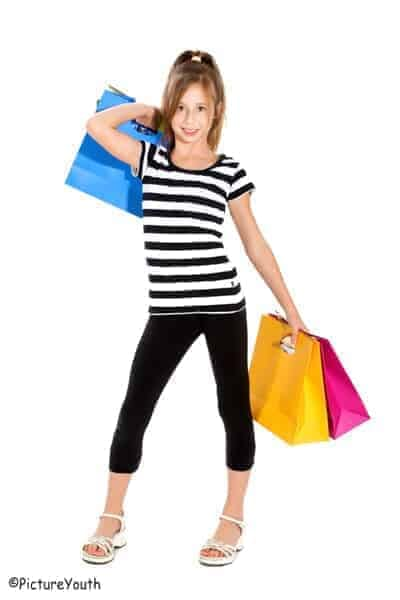 "Young Girl Shopper by ""PictureYouth"""