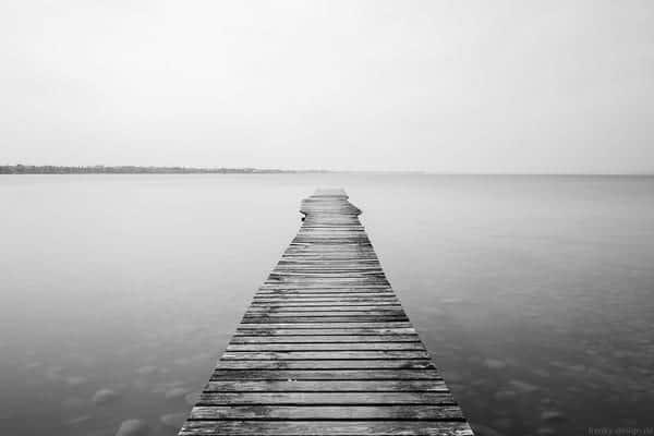 Ein Steg by David Schiersner