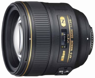 The 85mm f/1.4G