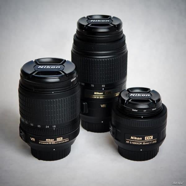 Nikon Lenses by Bob Mical