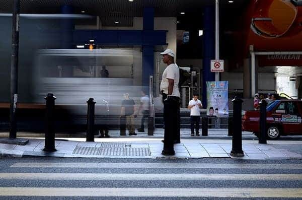 Stillness | Slow Shutter | Masjid Jamek LRT Station by John Ragai
