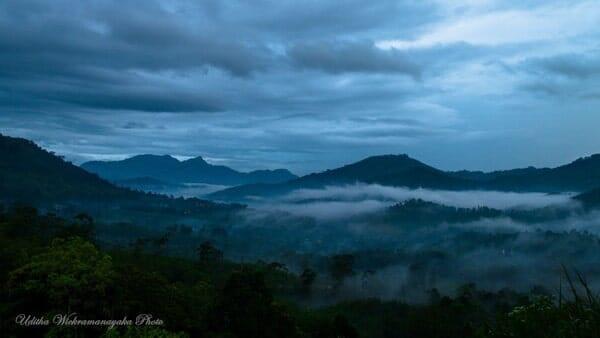 Landscape at Badulla by uditha wickramanayaka