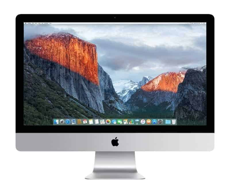 The Best iMac for Photo Editing: The iMac Retina 5k 27 inch.