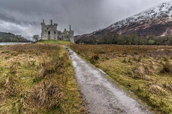 Kilchurn castle, Lochawe, Scotland, United Kingdom by Giuseppe Milo
