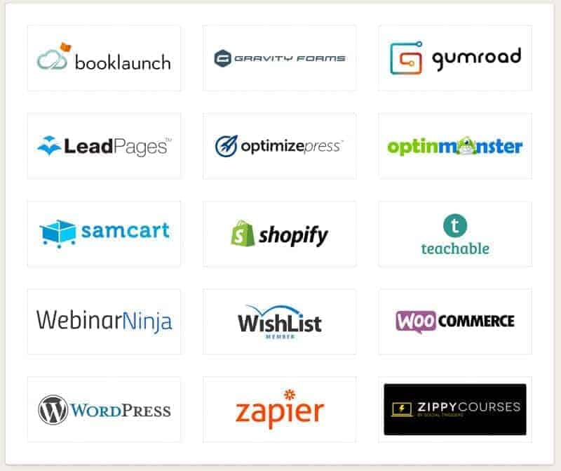 The list of integrations keeps on growing!