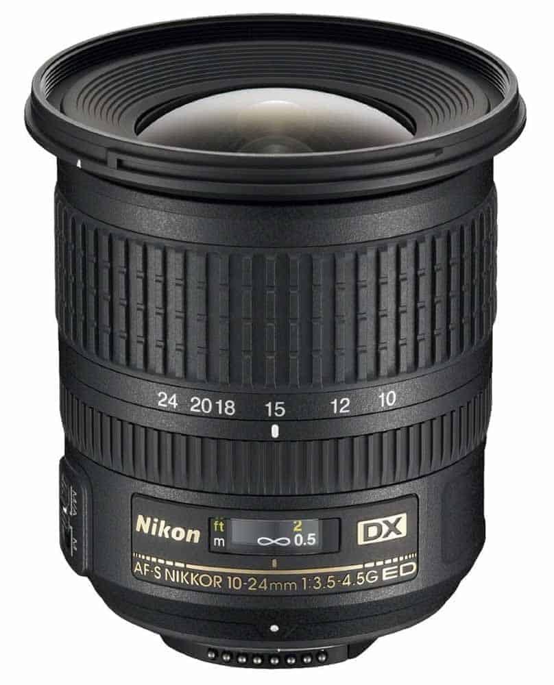 Nikon AF-S DX NIKKOR 10-24mm f 3.5-4.5G ED Lens