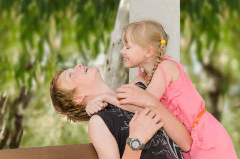 Better Stock Photos: Mom with Child in a Natural Setting