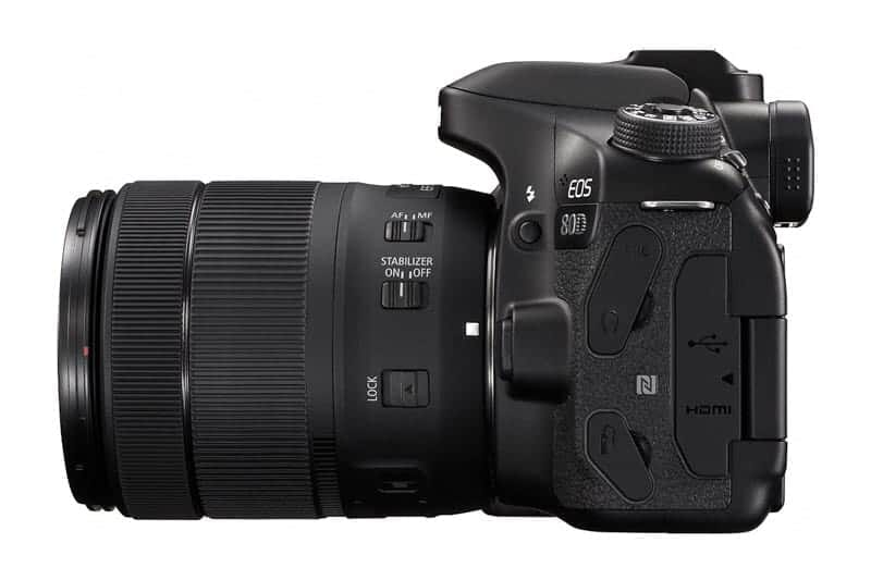 Canon EOS 80D Review: Connectivity