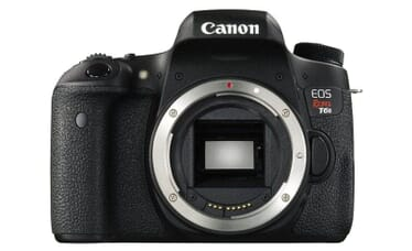 The Canon EOS Rebel T6s - Is amongst the top selling DSLRs on Amazon.com
