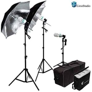 best continuous lighting kit: Limostudio 600W
