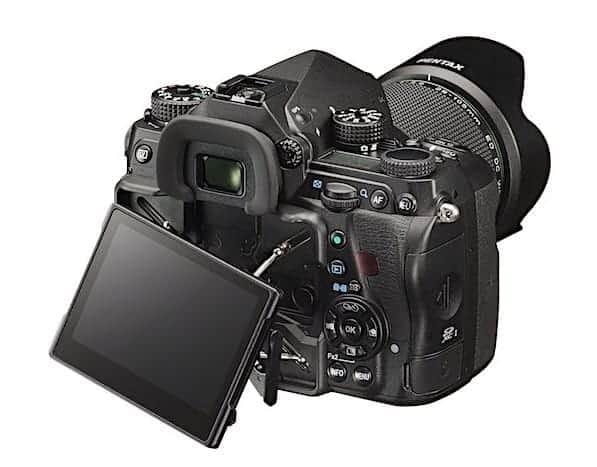Pentax K-1 Full Frame DSLR Camera - LCD