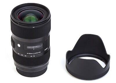 Sigma 210101 18-35mm F1.8 DC HSM Lens