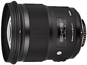 Best 50mm Lens for Nikon DSLR cameras: Sigma 50mm F1.4 DG HSM Art Lens