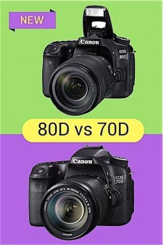 Canon EOS 80D vs Canon EOS 70D