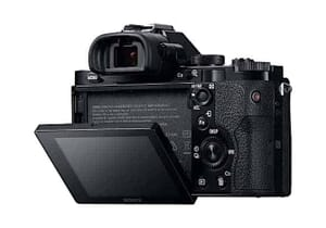 The LCD of the Sony a7