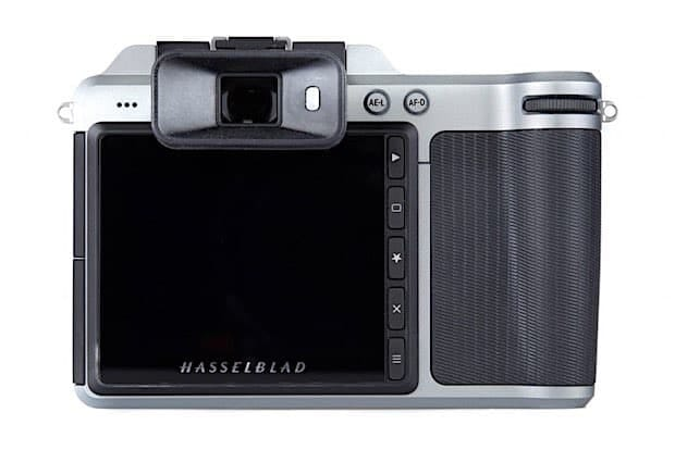 The Hasselblad X1D back view