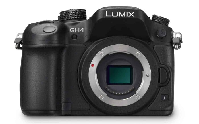 PANASONIC LUMIX GH4 Body 4K Mirrorless Camera, 16 Megapixels, 3 Inch Touch LCD, DMC-GH4KBODY