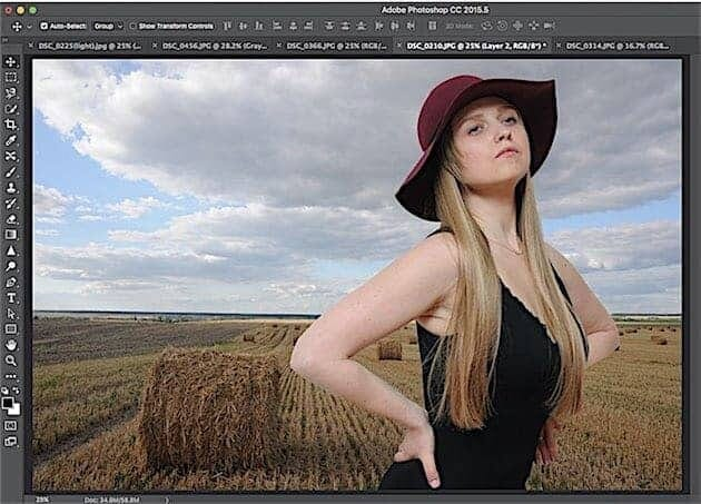 Basic Photoshop Tip: Replacing the Background