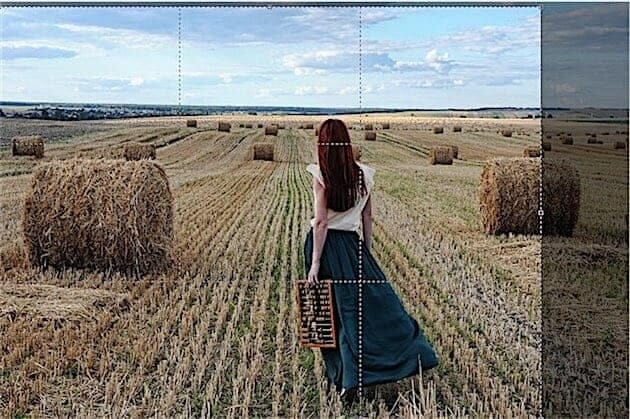 Photoshop Tips #3: Crop the photo using the rule of thirds