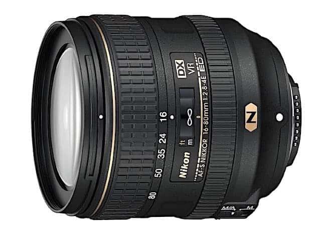 Nikon AF-S DX NIKKOR 16-80mm f:2.8-4E