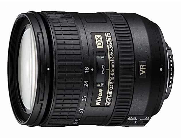 Nikon AF-S DX NIKKOR 16-85mm f:3.5-5.6G ED Vibration Reduction Zoom Lens