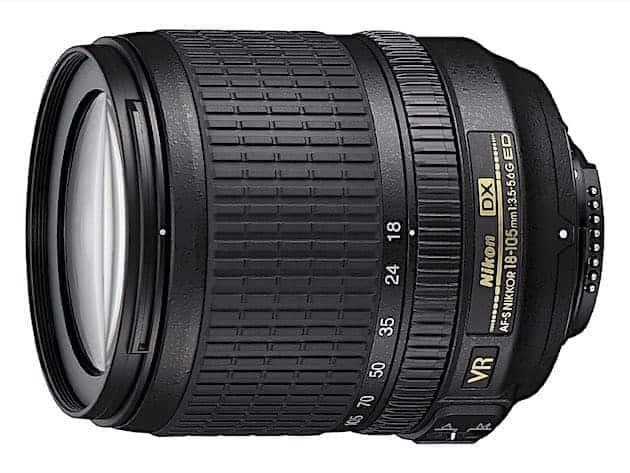 Nikon AF-S DX NIKKOR 18-105mm f:3.5-5.6G ED Vibration Reduction Zoom Lens with Auto Focus-resized