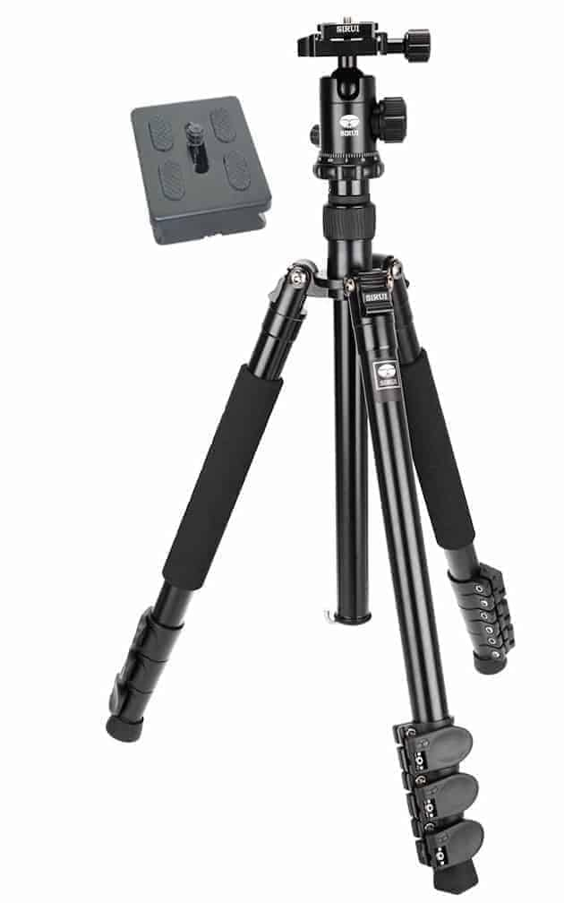 Great and cheap: The Sirui ET-1004 Aluminum Tripod with E-10 Ball Head