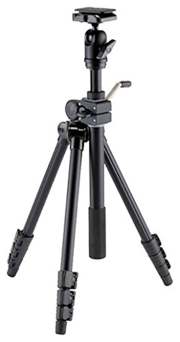 "Best Tripod under $200: Velbon VS-443D 63"" Aluminum Tripod"