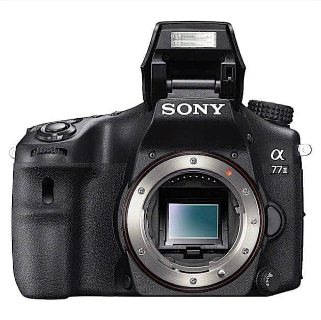 Flash of Sony A77ii