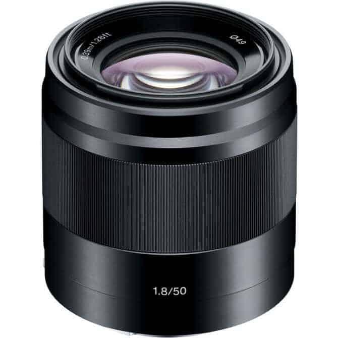 Sony E50mm f/1.8 OSS