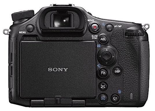 Rear View of the Sony a99 II