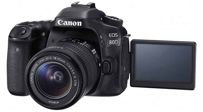 Canon EOS 80D Digital SLR Kit with EF-S 18-55mm f/3.5-5.6