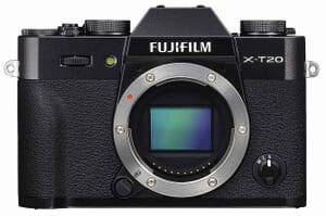 The New Fujifilm X-T20 Mirrorless Digital Camera (Black)