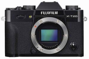 The New Fujifilm X-T20 Mirrorless Digital Camera (Black)