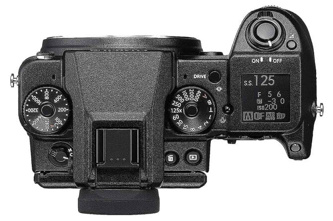 Fuji GFX 50S Dust Resistant, Weather Resistant and Freeze Proof to -10°C