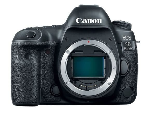 Canon EOS 5D Mark IV - Best Full Frame DSLR for Headshot Photos