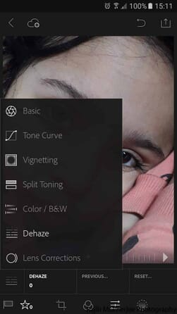 how to post-process using smartphone