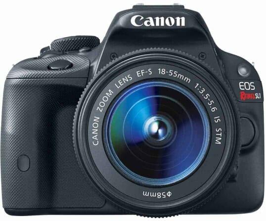 Best for Cursing: The Canon EOS Rebel SL1 Digital SLR with 18-55mm STM Lens