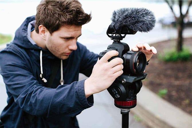 Best Shotgun Mic (External Microphone for DSLR): The Shure VP83F LensHopper