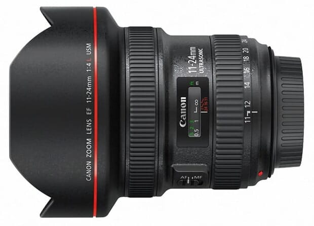 Canon wide-angle lenses for nighttime photography