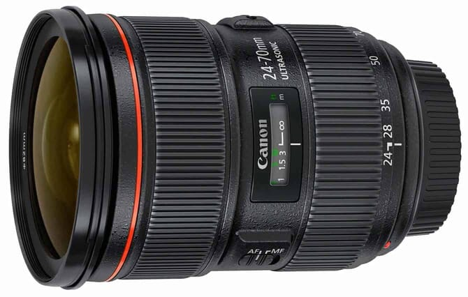 canon 24-70mm for nighttime photography